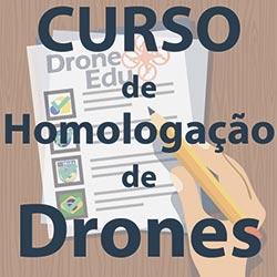 Curso de Homologação de Drones