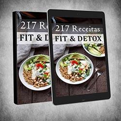 217 Receitas Fit & Detox - eBook Livro Digital