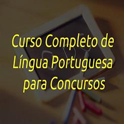 Curso Completo de Língua Portuguesa para Concursos