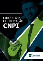 Certifiquei: Curso Preparatório Para o Exame do CNPI