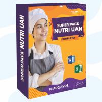 SUPER PACK NUTRI UAN - Planilhas & Fichas Técnicas