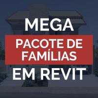 Mega Pacote de Famílias em Revit