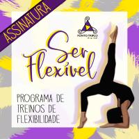 Ser Flexível programa de treinos de flexibilidade.