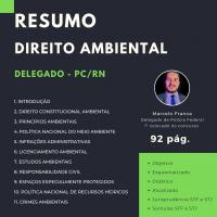Resumo de Direito Ambiental - Delegado PCRN