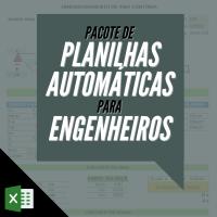 Pacote de Planilhas Automáticas para Engenheiros